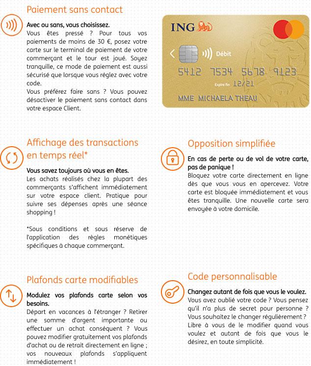 Ing Direct Avis Banque En Ligne Conditions Cartes