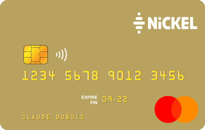 Carte Nickel Chrome Premium
