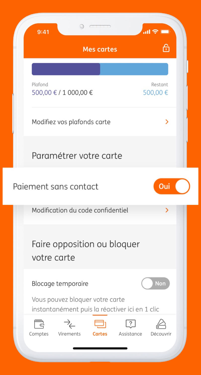 ING Application iPhone