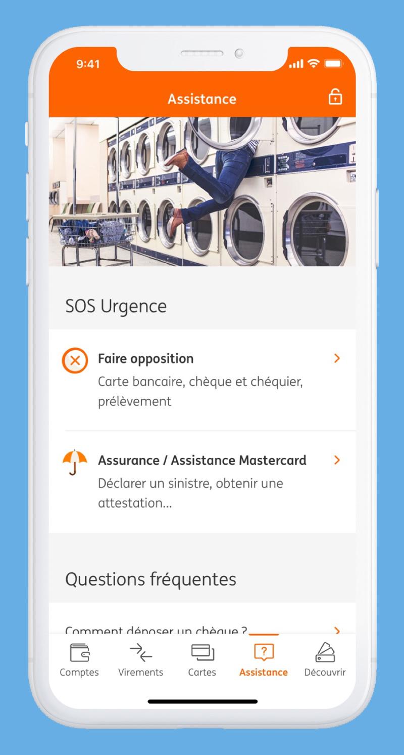 ING Application mobile