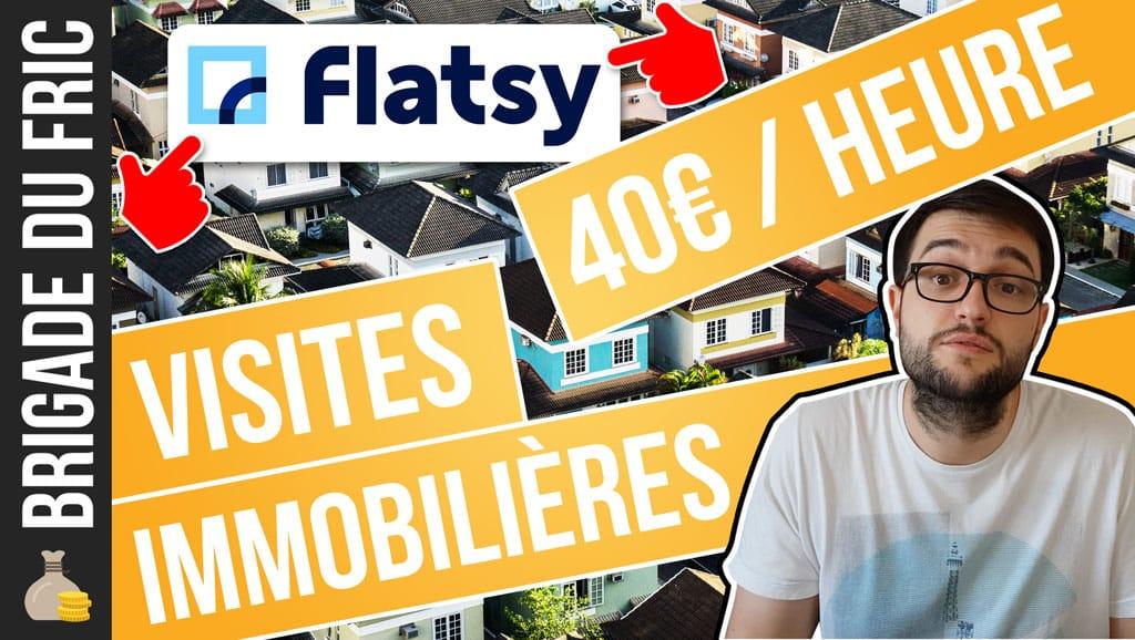 gagner plus d'argent avec Flatsy - Visites