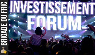 Forum d'investissement : Bourse, Immobilier, Business