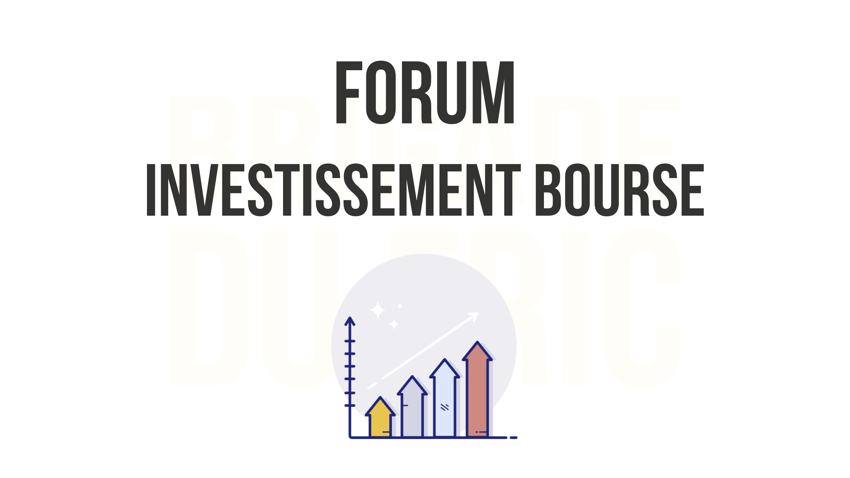 Forum investissement bourse