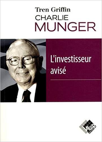 Livre Charlie Munger, L'investisseur avisé