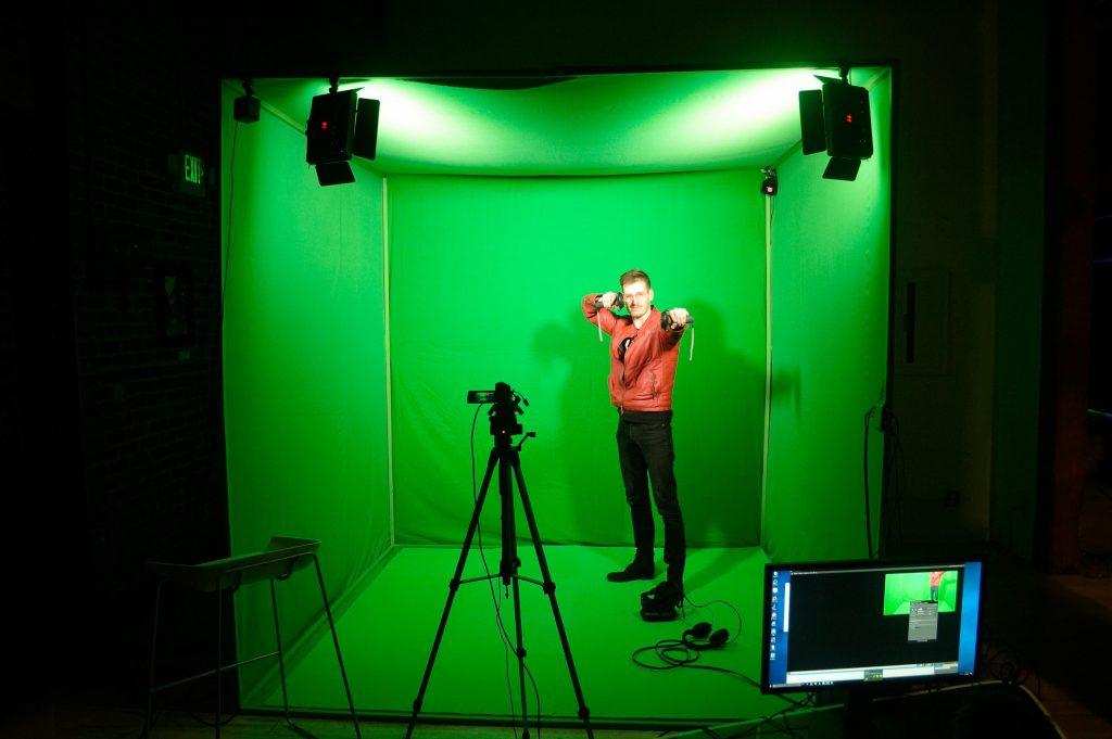 studio réalité mixée et réalité virtuelle
