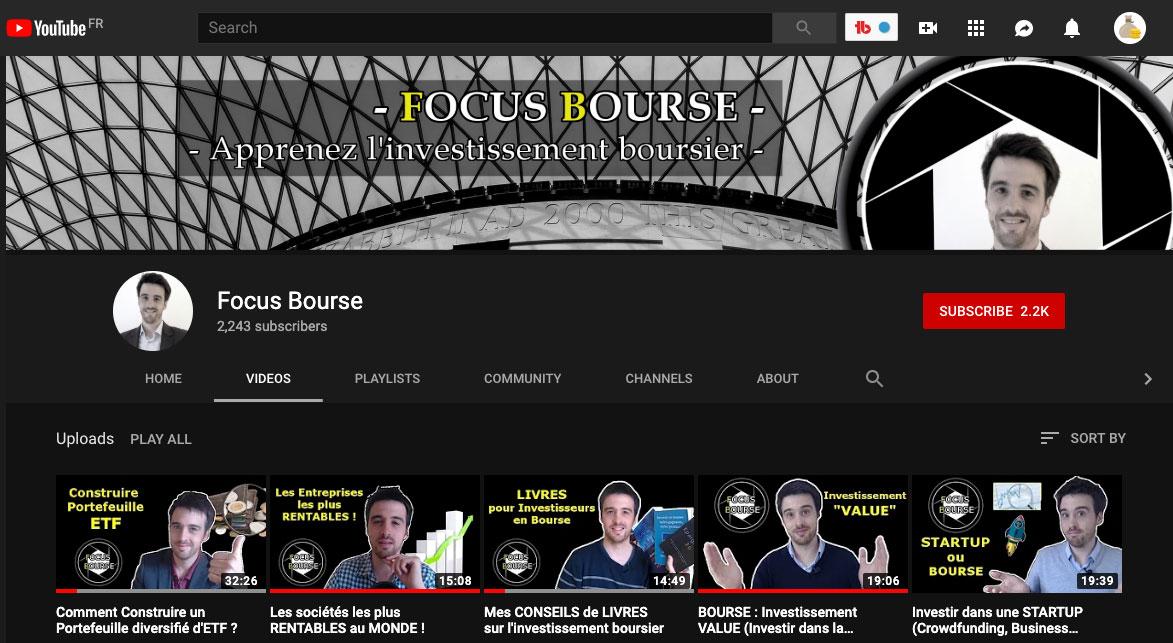 Focus Bourse