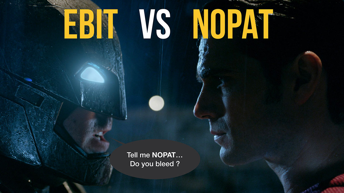 EBIT vs NOPAT