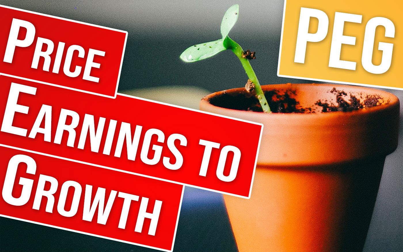 PEG : Price Earnings to Growth en bourse