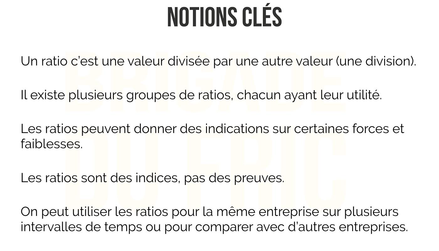 Ratios Boursiers - Notions Clés