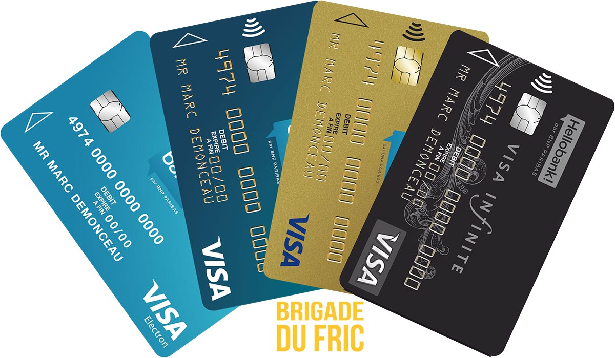 Cartes Hello bank