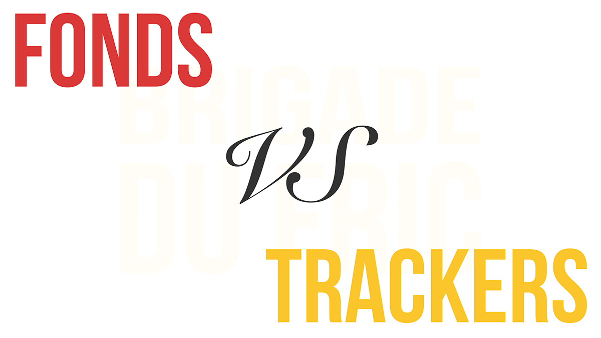 Fonds vs Trackers