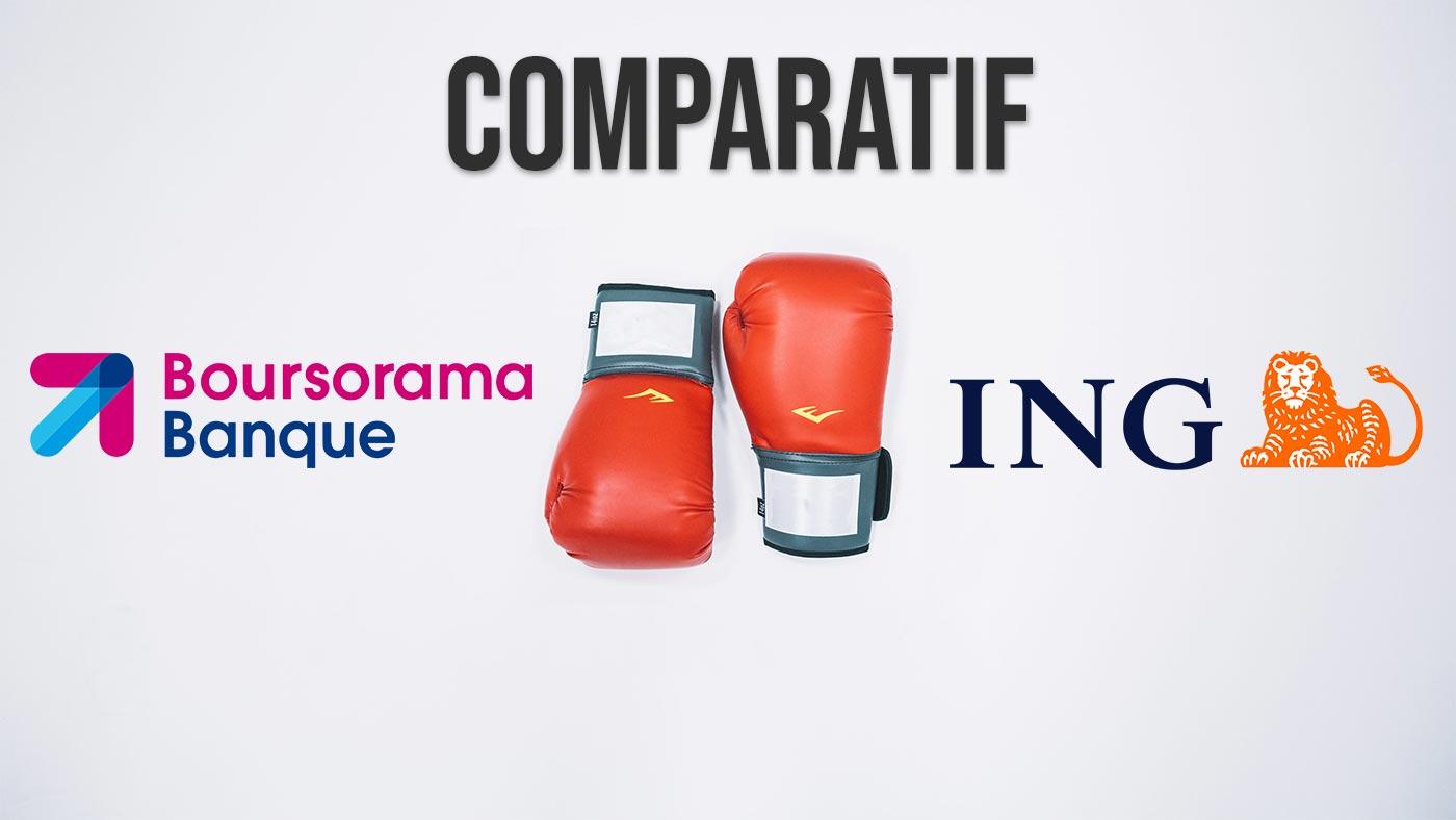 Boursorama banque VS ING