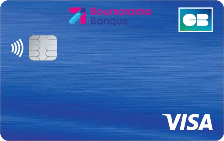 Carte Classic bleue Boursorama