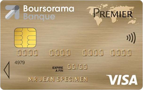 Carte Premier Boursorama