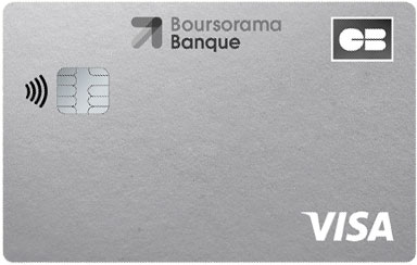 Carte Welcome Boursorama