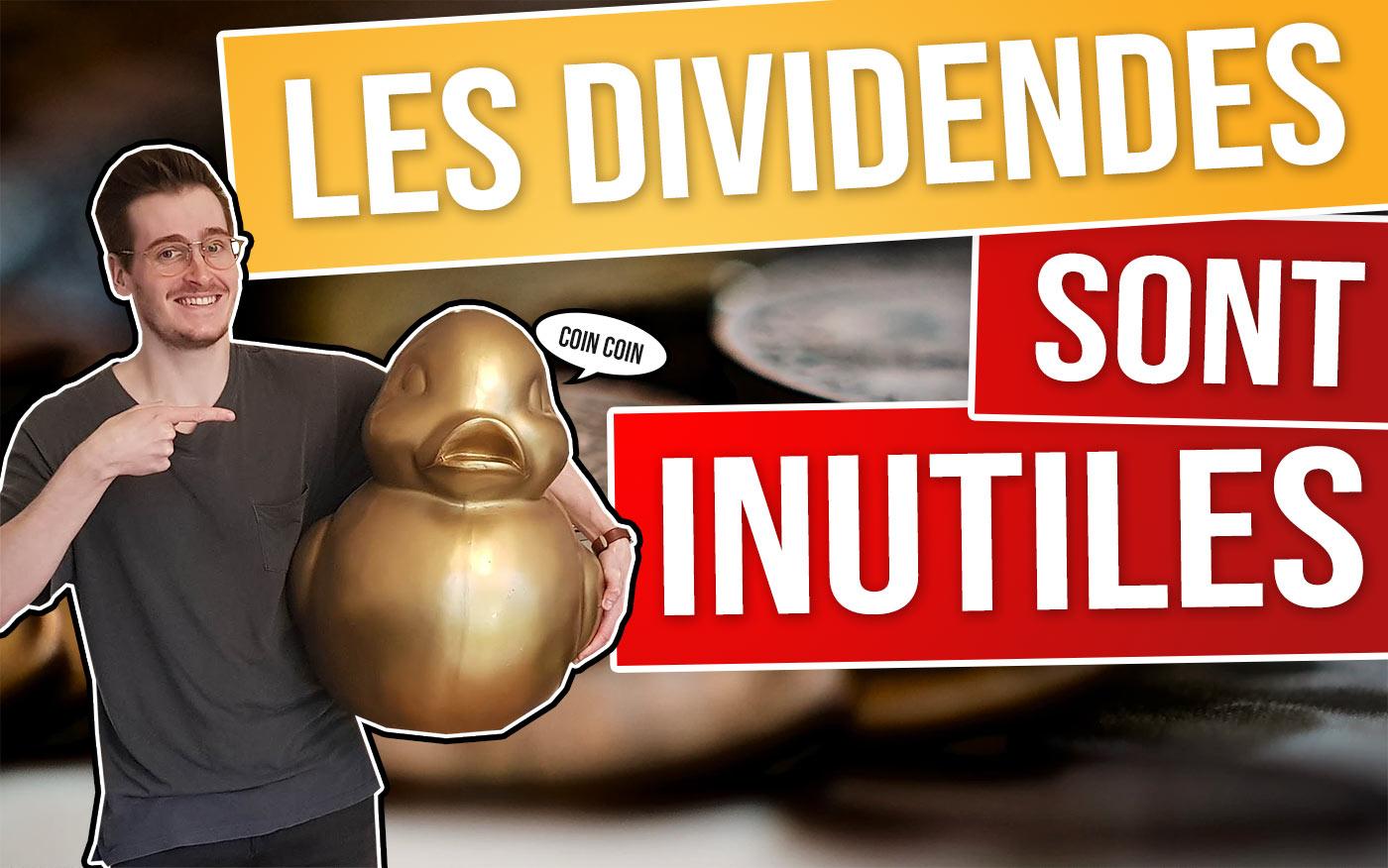 Faut-il investir dans les actions à dividende