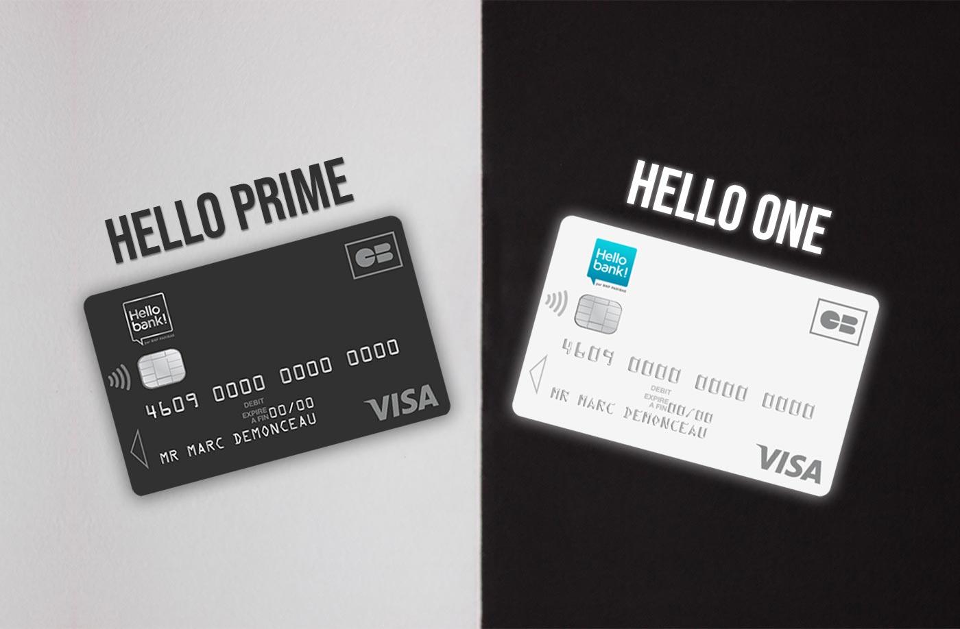 Hello one vs hello prime - Hello bank!