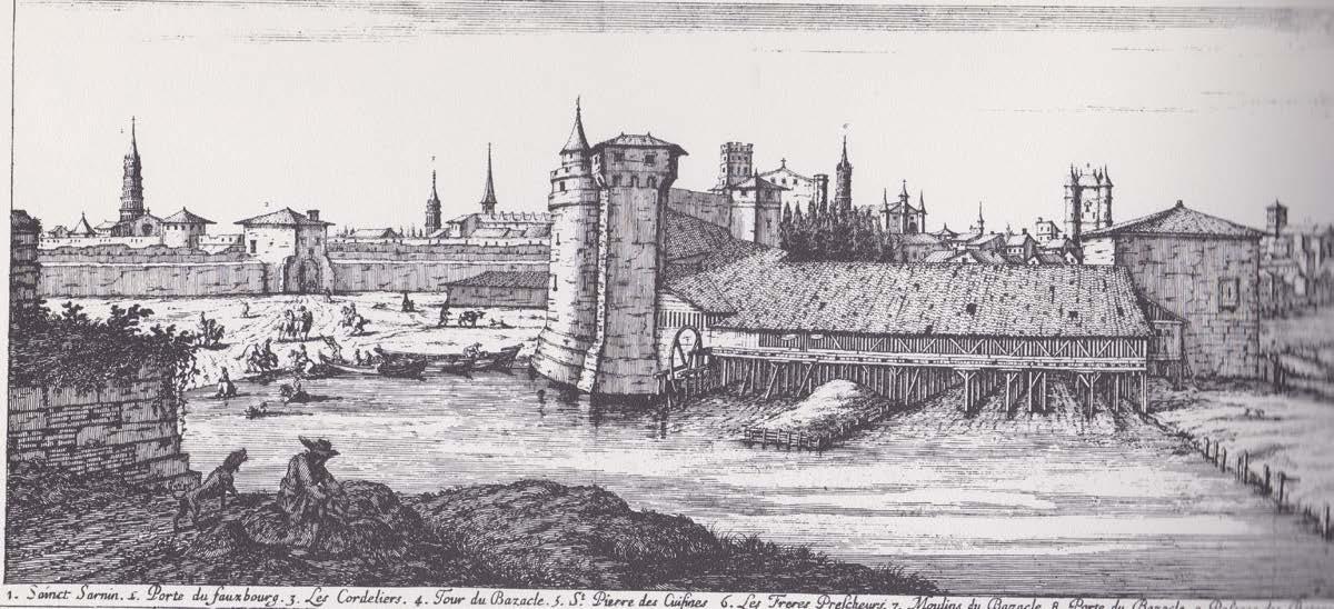 Les moulins du Bazacle - La première action