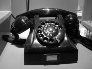 Téléphone Ericsson Bakelite