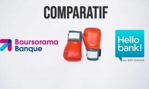 Boursorama banque vs Hello bank!